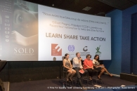 <p>Panel discussion with Irene Wintermayr (ILO), Thomas Kauffmann (Ecpat Luxembourg) Rosa Brignone (Time For Equality), Fabienne Rossler (CCDH)</p>