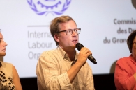 <p>Thomas Kauffmann, Executive Director of Ecpat Luxembourg</p>