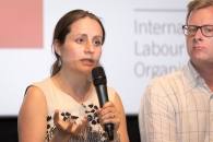 <p>Irene Wintermayr (ILO Policy Officer)</p>