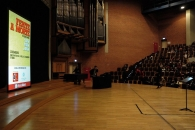 <h5>The stage - before the play</h5>