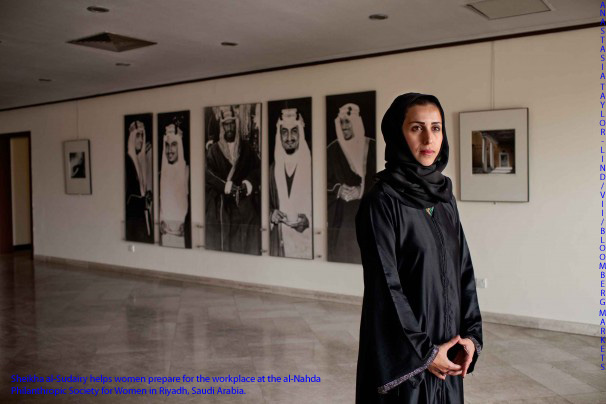 Saudi women (and the Saudi office) adjust as more enter the workplace