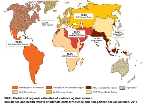 Violence against women a global health problem of epidemic proportions