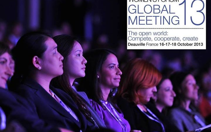 Time For Equality at the 9th edition of the Women's Forum Global Meeting