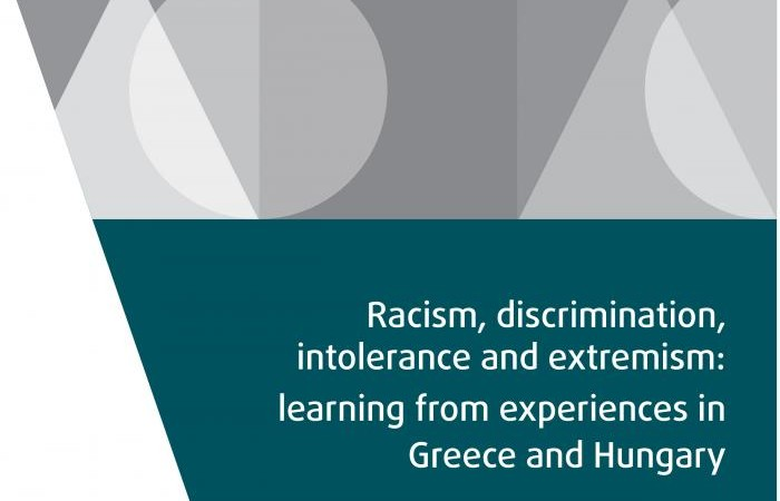 Racism, discrimination, intolerance and extremism. A new report by FRA
