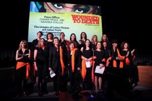 Ferite a Morte / Blessées à mort: Spectacle de Théâtre de et avec Serena Dandini production Mismaonda; Organisé par la Libreria Italiana e Time For Equality
