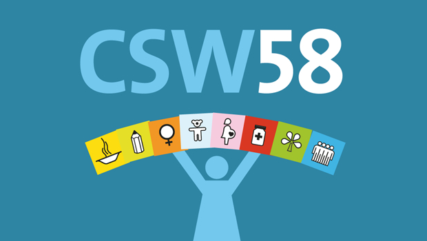 CSW58 : Challenges and achievements in the implementation of the Millennium Development Goals for women and girls