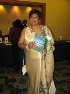 Siddika with book