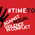 FOCUS ON – Raising Awareness To End Sexual Violence in Conflict
