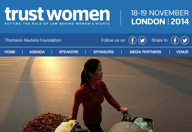 Time for Equality @ Trust Women Conference 2014 : Time For Action!