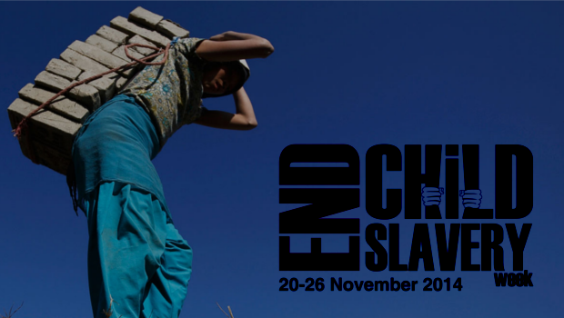 Call to sign the End Child Slavery Week Petition!
