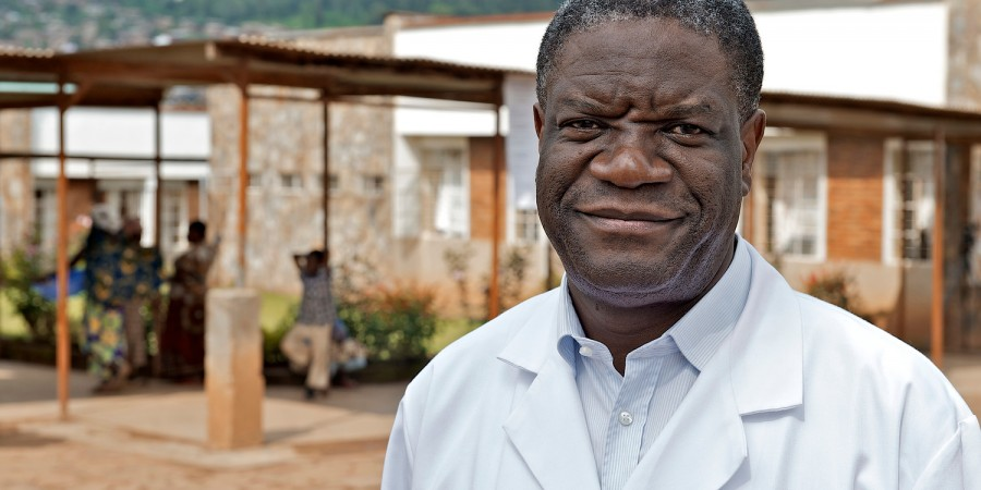 "Sakharov laureate Denis Mukwege: ""Women's bodies have become a true battlefield."""