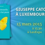 """Ne me dis pas que tu as peur"": Giuseppe Catozzella à Luxembourg, 15 mars 2015"
