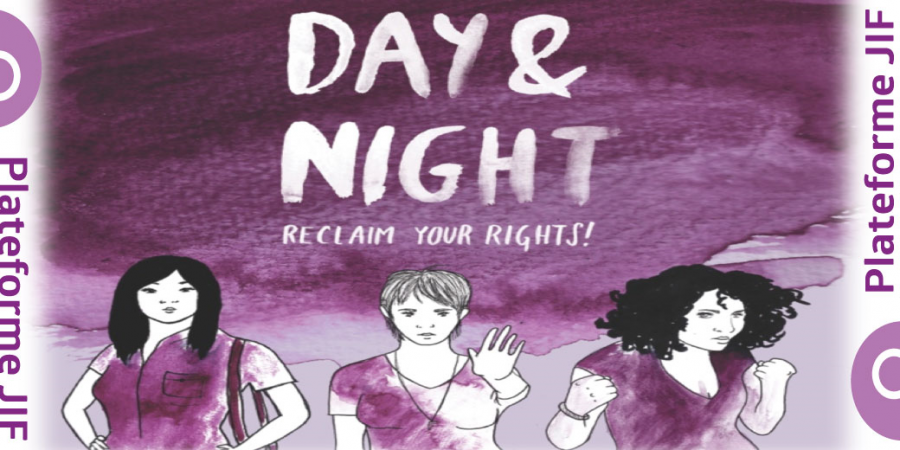 Day and Night – Reclaim Your Rights! International Women's Day in Luxembourg, 7/8 March 2015