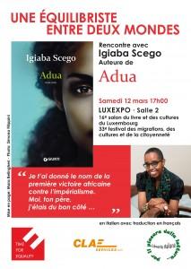 Igiaba Scego salon du livre Luxembourg