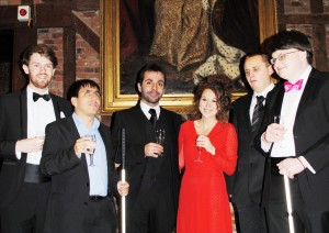 The Band at the Centenary Gala for Herts Society fo the Blind
