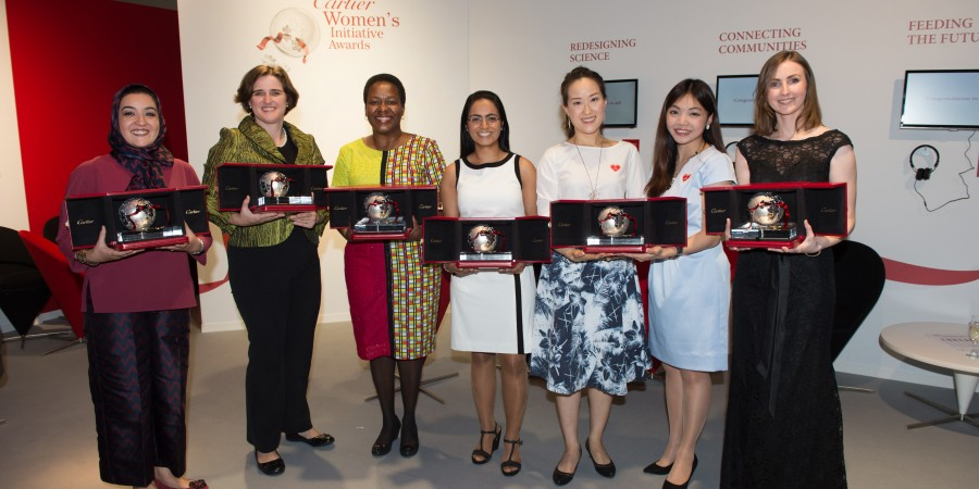Apply now: Cartier Women's Initiative Awards 2016