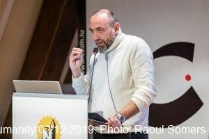 Leonardo Palmisano at La traite des êtres humains ou l'anéantissement de la dignité 2 décembre 2019, Luxembourg